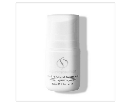 Night Renewal Treatment: ideal for dry, mature or normal skin