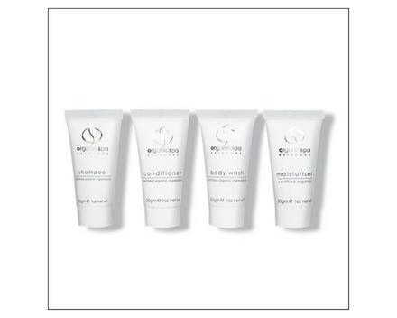 Body Basics - shampoo, conditioner, body wash, body moisturiser