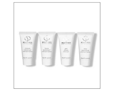 Vital minis - gezichtsreiniger, face exfoliant, gel masker, dagcrème normale huid