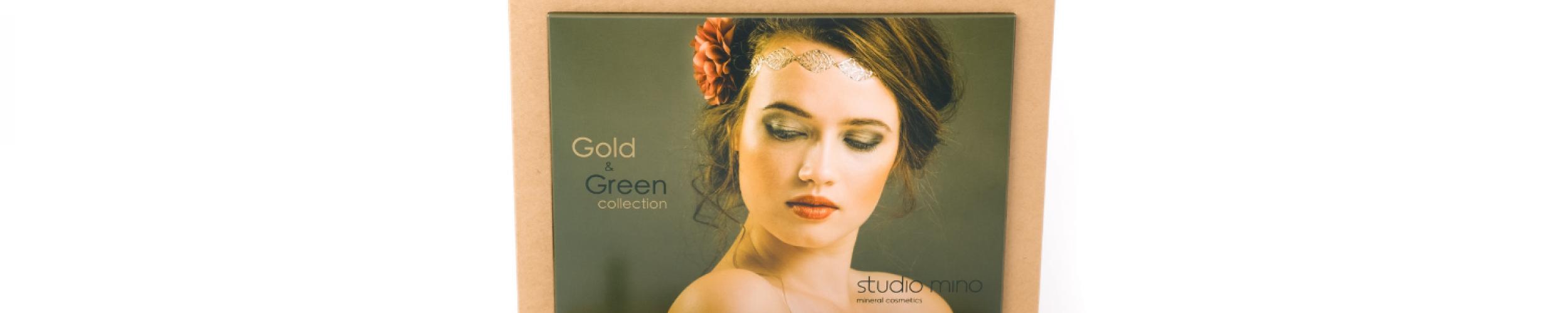 Gold & Green Display Boho Elegance