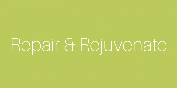 Repair and Rejuvenate