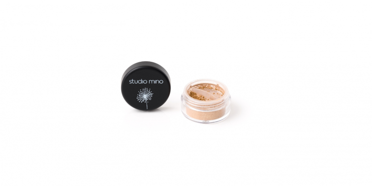 Mineral loose sparkle eyeshadow sparkly bronze